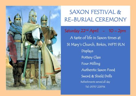 St Mary's Saxon Festival & Re-burial Ceremony