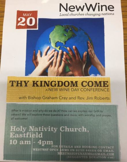 New Wine: Thy Kingdom Come Day Conference