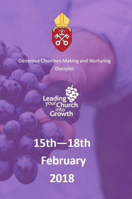 LYCIG - Leading Your Church Into Growth - Diocesan Conference