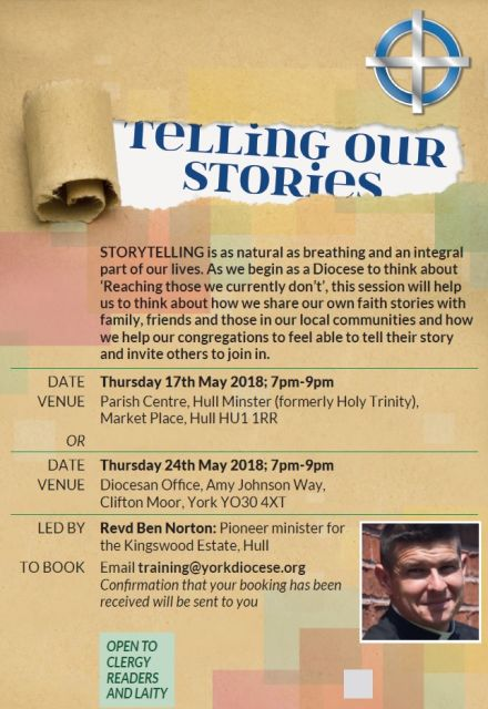 CMD Event: Telling our Stories