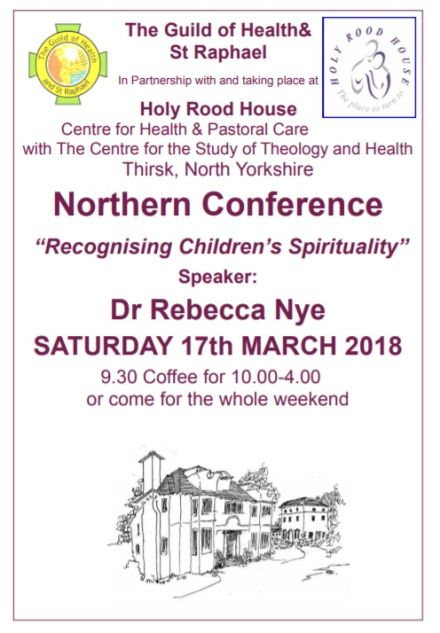Recognising Children's Spirituality Lecture with Dr Rebecca Nye at Holy Rood House