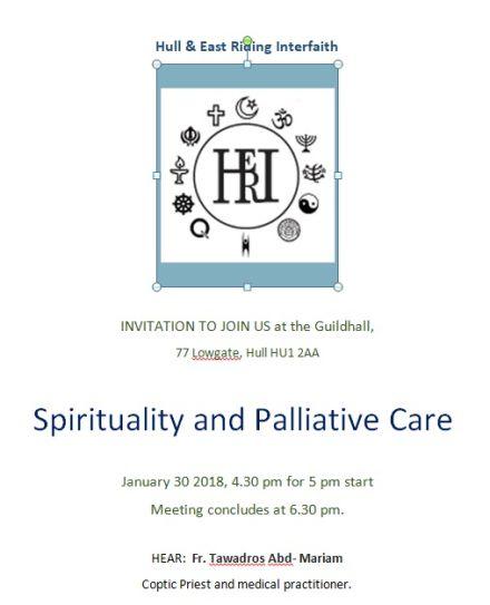 Hull And East Riding Interfaith HERI Spirituality Palliative Care