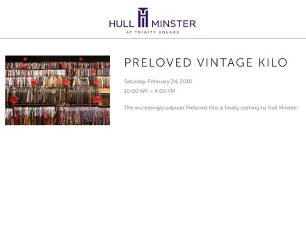 Hull Minster: Preloved Vintage Kilo