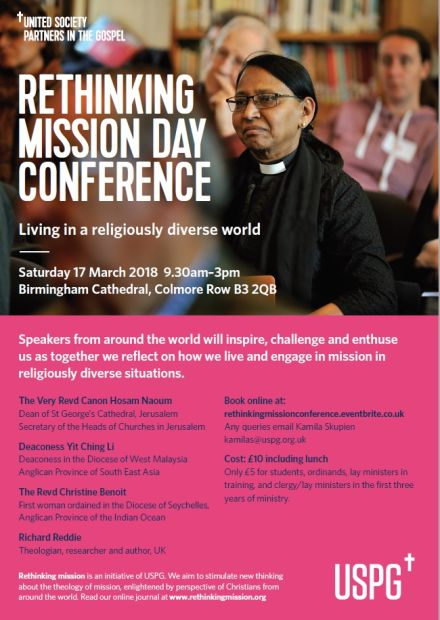 Rethinking Mission: Living in a Religiously Diverse World