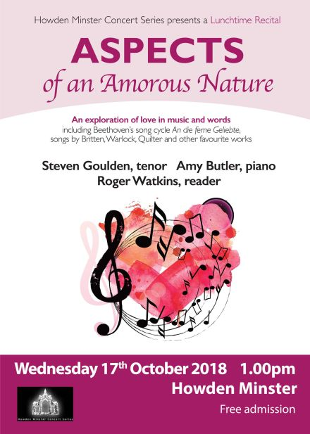 Lunchtime Concert: Aspects of an Amorous Nature
