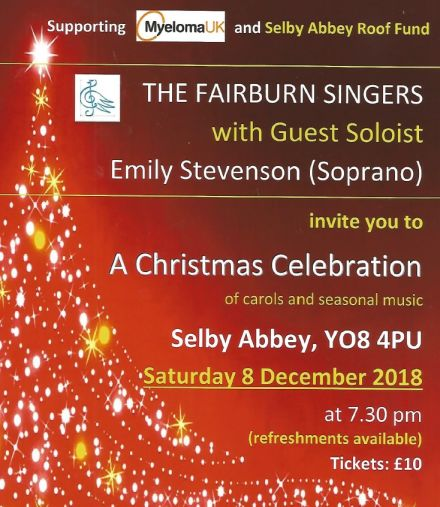 A Christmas Celebration of Carols and Seasonal Music with the Fairburn Singers