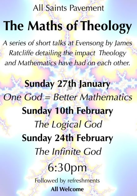 The Maths of Theology: Series of Short Talks