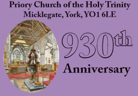 Choral evensong for St Benedict ~ Holy Trinity, Micklegate, 930th anniversary
